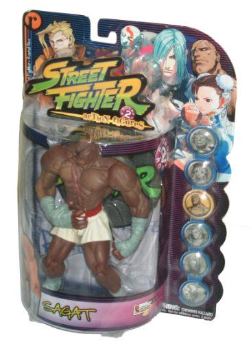 Capcom Street Fighter Alpha 3 Round 2 Series 8 Inch Tall Action Figure - Player Two White Trunk SAGA @ niftywarehouse.com #NiftyWarehouse #StreetFighter #VideoGames #Gaming