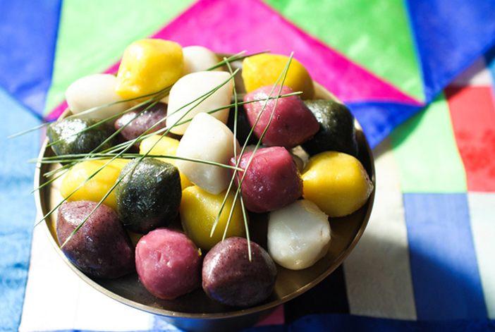 Songpyeon, rice cake that represents Chuseok