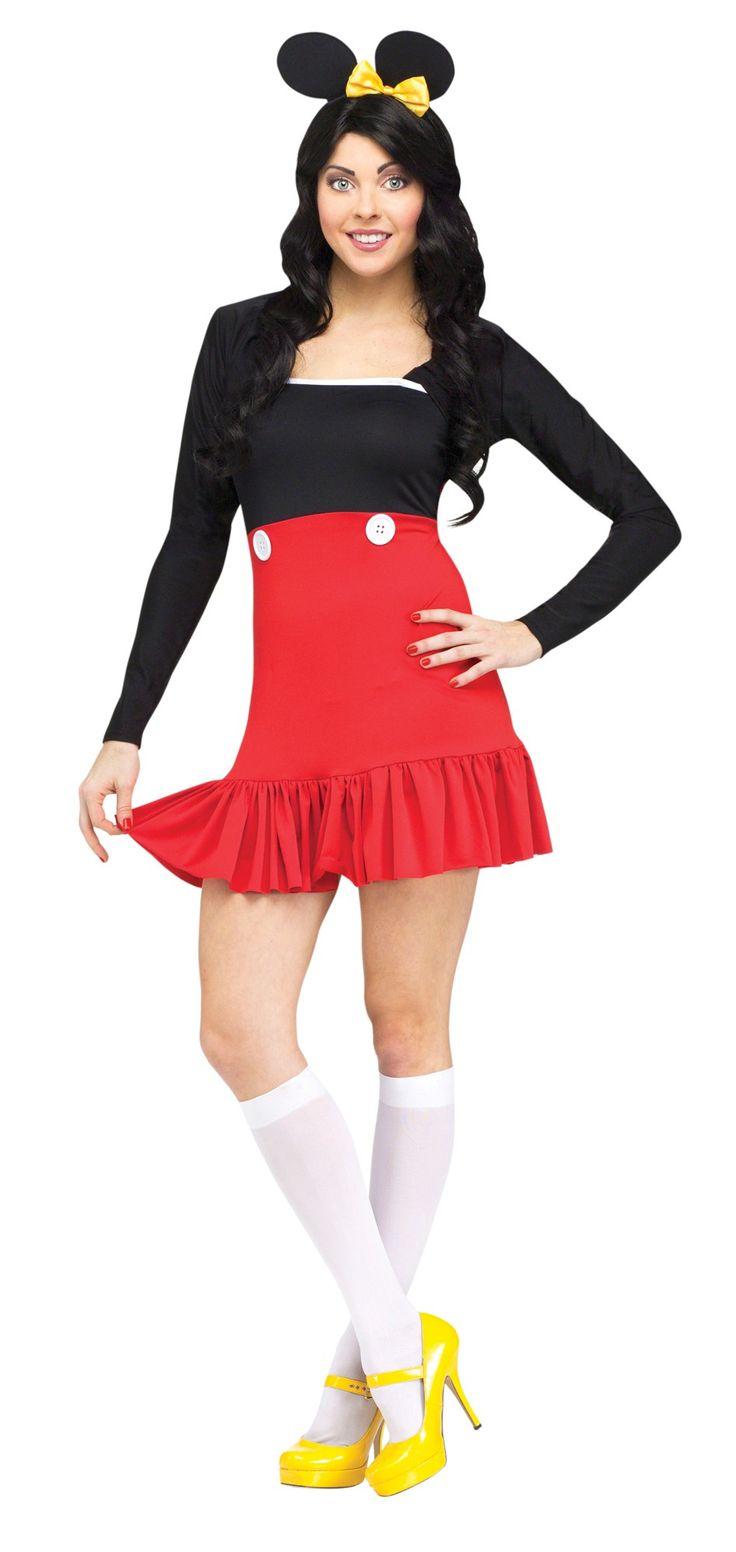 Miss Mikki - Mouse Women's Costume  #Csam #tot #mikkimouse #mikki #missmikki #womenscostume #costumestoreandmore #trickortreathalloween