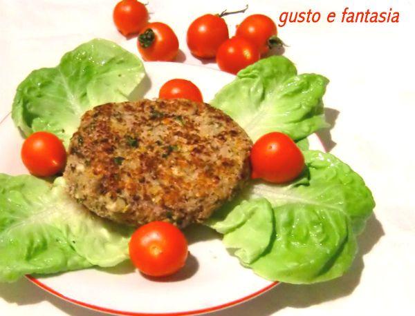 hamburger di fagioli e zucchine