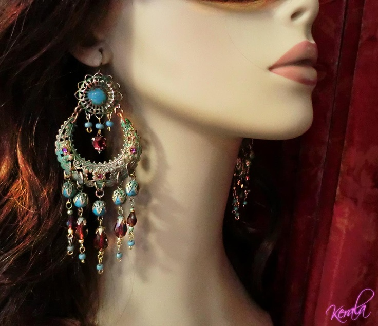 57 best moroccan jewels images on Pinterest | Earrings ...