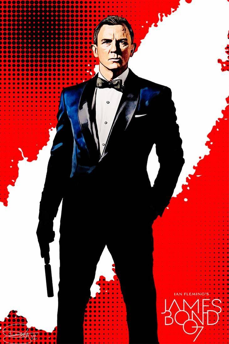 007 By Danielmurrayart On Deviantart James Bond Movie Posters James Bond James Bond Actors