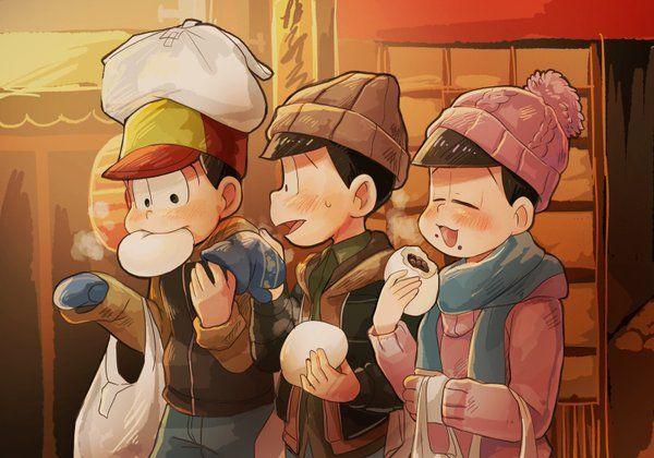 おそ松さん Osomatsu-san   おそ松&チョロ松&トド松