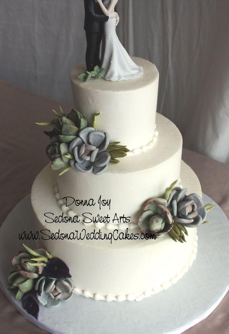 Wedding Cakes Succulents