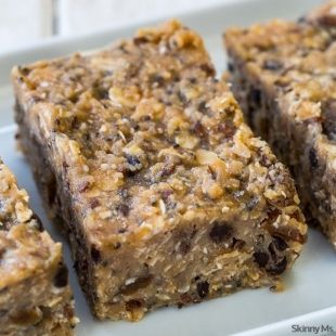 No-Bake Workout Bars - Skinny Ms.