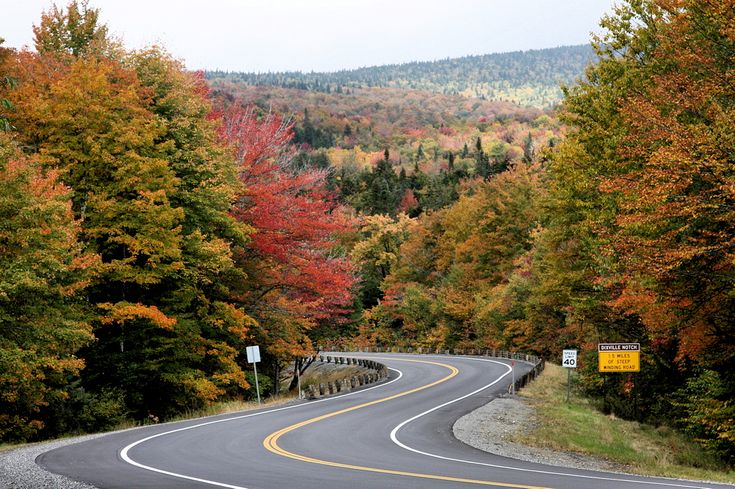 The Road To The Balsams - The trip to The BALSAMS offers a wonder opportunity for leaf peeping along winding roads. photo submitted by David Donohue. Photographer: Mark R. Ducharme Location: Dixville Notch, Nh, NH US