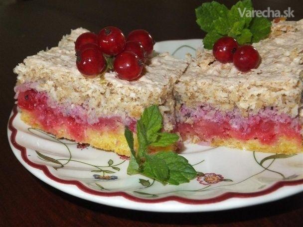 Super ríbezľový koláčik - Recept