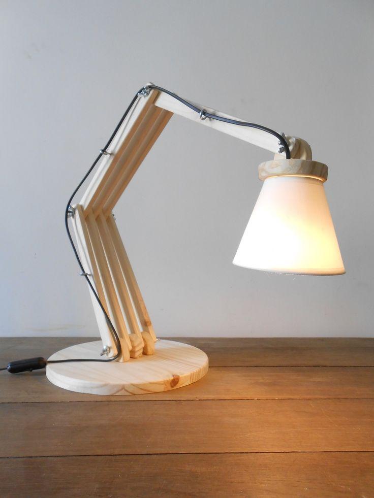 "Lampe de bureau articulée "" Dixart "" à 4 articulations"