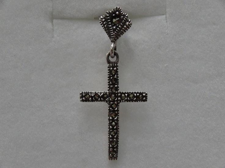 $13 Pendant  [ Sterling Silver & Marcasite, info@bijuterie-online.ro