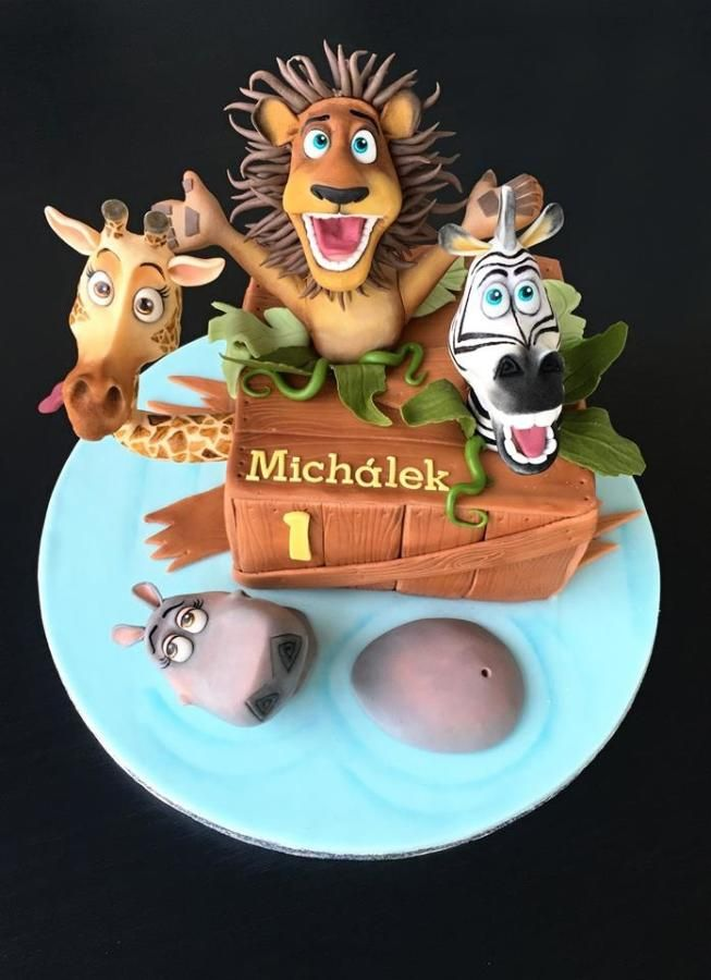 Madagascar - Cake by Romana Bajerová