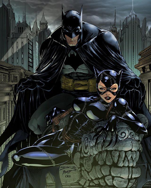 #Comic #DC #Batman #Catwomen #Gotham