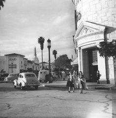 LOS ANGELES BY ANSEL ADAMS, c.1940S