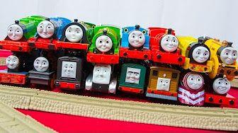 Thomas & Friends - Τρενάκια Τόμας και Σιδηρόδρομος | e-toys.gr - YouTube