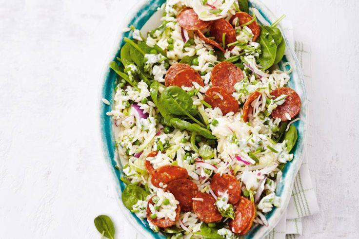Razendsnel een heerlijk Italiaans gerecht op tafell, met heeeel veel groenten - Recept - Allerhande