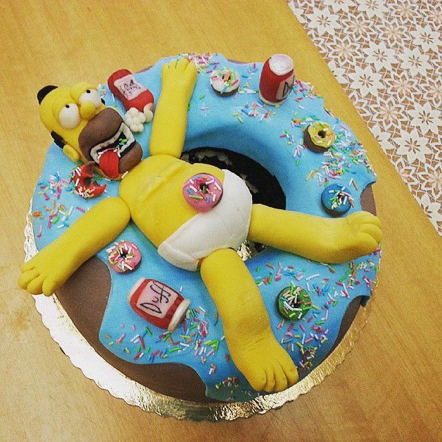 Torta Homer Simpson
