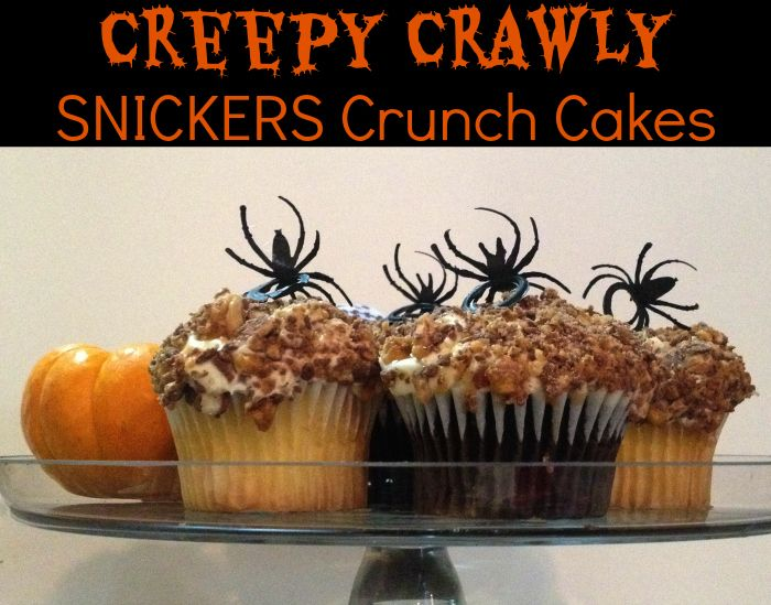 Halloween Celebrations - Creepy Crawly SNICKERS Crunch Cakes Plus ...