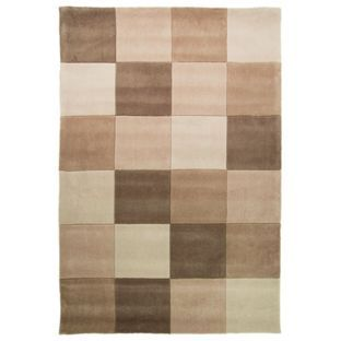 Buy Geo Blocks Rug - 160x230cm - Natural at Argos.co.uk, visit Argos.co.uk to shop online for Rugs and mats