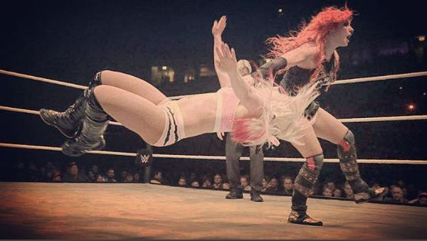Becky Lynch and Alexa Bliss