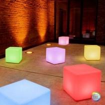 #Moree Cube Outdoor LED voor de aankleding van een terras, oprijlaan of entree.