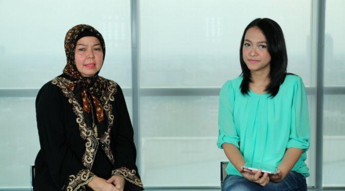"""""""Sudah takdir dari Allah SWT, memang ayah saya H. Ir Soekarno, ibu saya Ibu Hj Maharani Wisma Susana Siregar."""""""