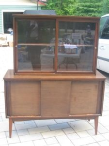 Teak Buffet And Hutch For Sale In Penetang Ontario