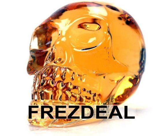 NEW Crystal Glass Head Liquor Skull Bottle 330ml. Special Price $16.00 (60.00% OFF ) http://www.frezdeal.com/productdetails/796/new-crystal-glass-head-liquor-skull-bottle-330ml.html