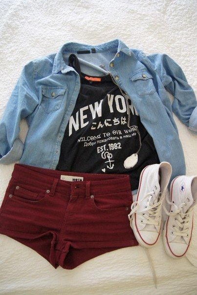new york | Tumblr. Btw I really want 100 followers so...(I follow back too!) #summer #fashion:
