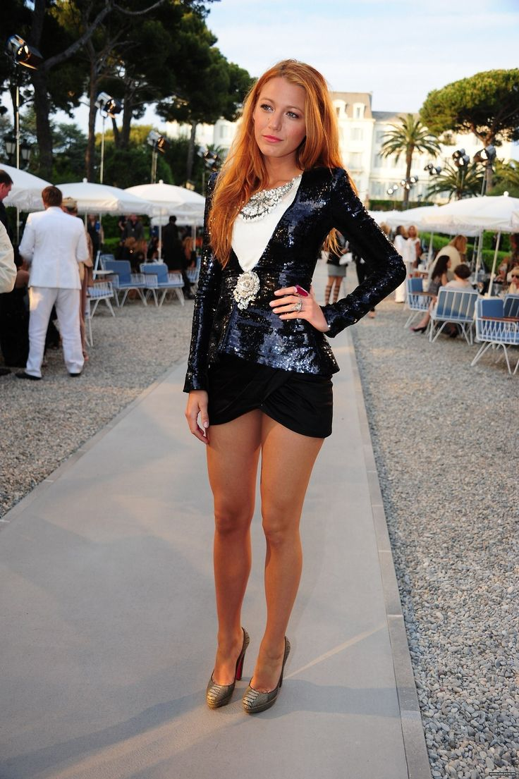 GET THE LOOK || Blake Lively Jacket // Broach // Top // Shorts // Shoes // Necklace   More jcpenney