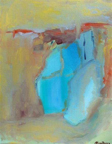 """Sea Glass"" - Allison Reece #art #seaglass"
