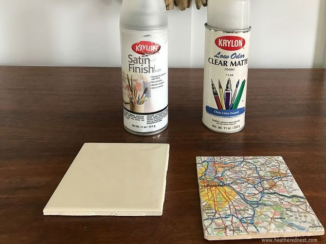 diy coasters from 4x4 tile - use hymnal pages?  I have lots of tiles (Leeann)