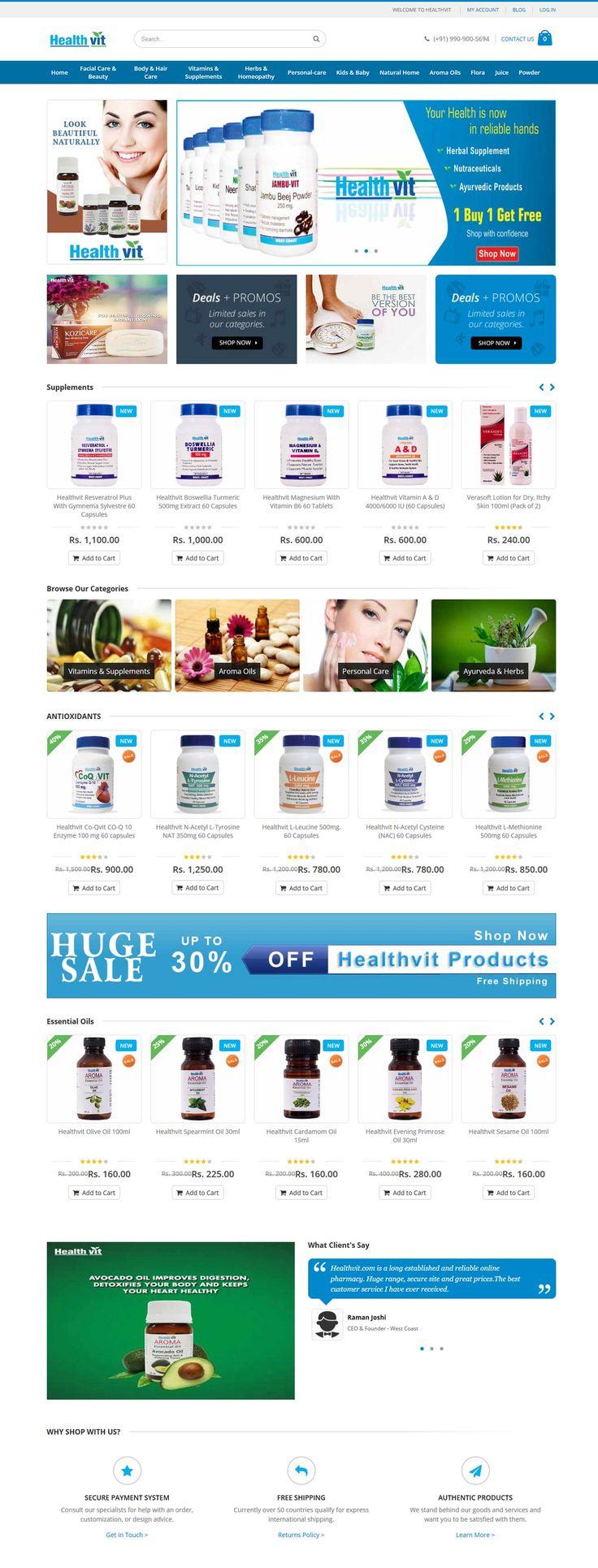 Healthvit.com - XMX Solutions