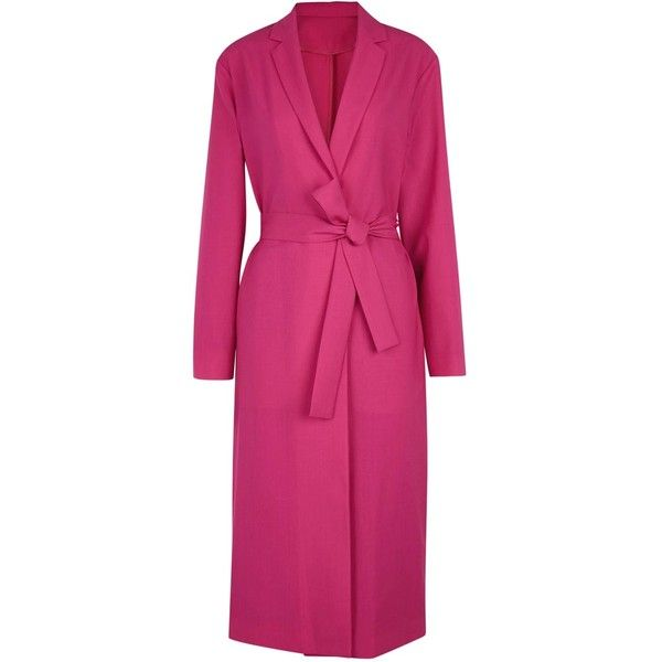 1000  ideas about Pink Wool Coat on Pinterest | Wool coats Pink