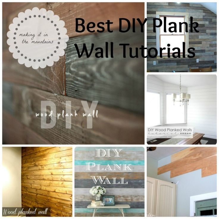 Best Plank Wall Tutorials | making it in the mountains