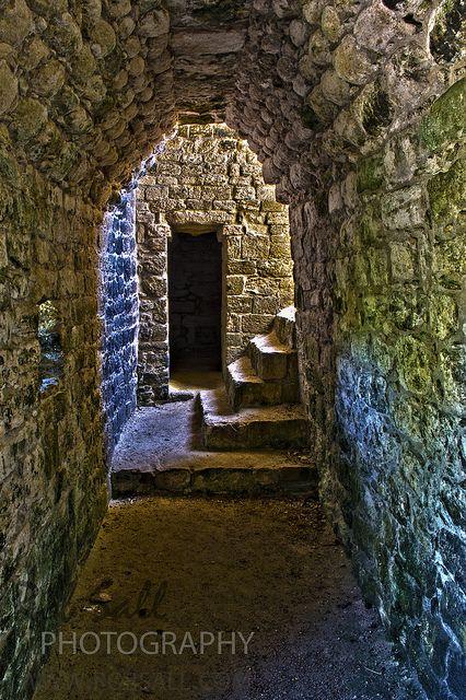 Becán, sitio arqueológico maya ubicado en Campeche. Se caracteriza por estar rodeada por un foso.