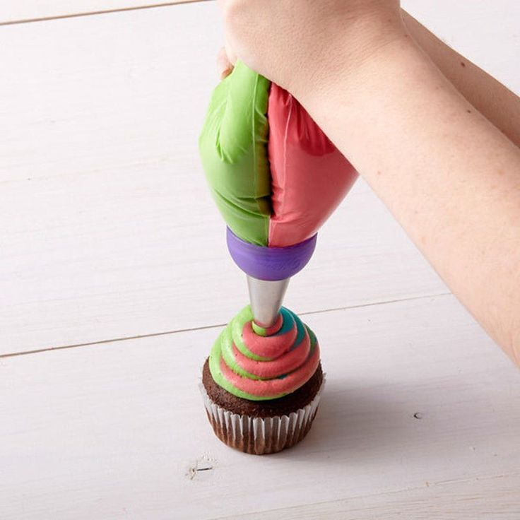 Tri color Cream Coupler Cake Decorating Tools Icing Piping Pastry Bag Nozzle Converter,,Cupcake Fondant Cookie 3 Hole 3 Color-in Dessert Decorators from Home & Garden on Aliexpress.com | Alibaba Group