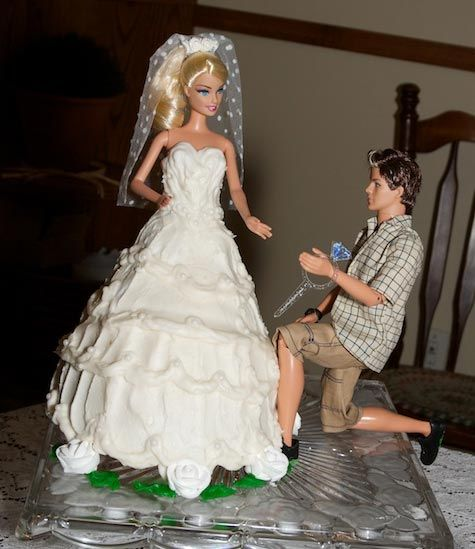 Wedding Gown Surabaya: 26 Best Images About Barbie Cakes On Pinterest