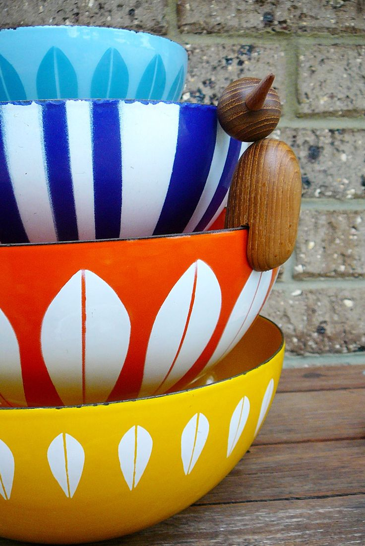 Vintage cathrineholm enamelware collection