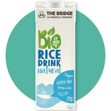 MLEKO RYŻOWE Z WAPNIEM BIO (The Bridge, Włochy) | 1 litr, cena 8,90zł na www.pureveg.pl  Doskonały wegański napój ryżowy wzbogacany wapniem, przygotowany z wysokiej jakości ryżu bio i organicznych składników.  #mlekoryzowe #mlekoroslinne #thebridge #weganskie #sklepweganski #pureveg