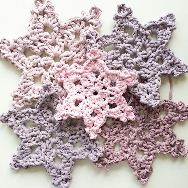 Starflower Snowflake pattern & Tutorial