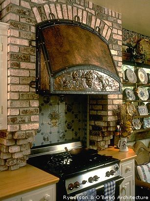 i like the idea of brick around the kitchen stove and i also like that thing. 28 best Dream Home images on Pinterest   Kitchen cabinet storage