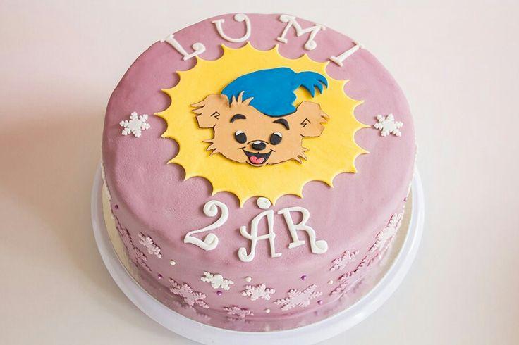 Bamse bamsetårta tårta cake barntårta kid birthday födelsedag ⭐sockerlinn.se⭐