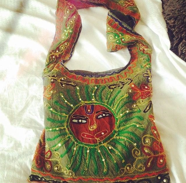 """""""My favorite bag, as it's original, pretty hippy and vibrant """" - Laura, LOVESPACE's Customer Experience Team"""