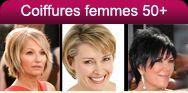 Coiffures et coupes de cheveux pour femmes mûres, quinquagénaires – 50 ans et plus