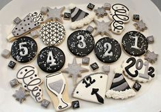 New Year's Icing Ideas
