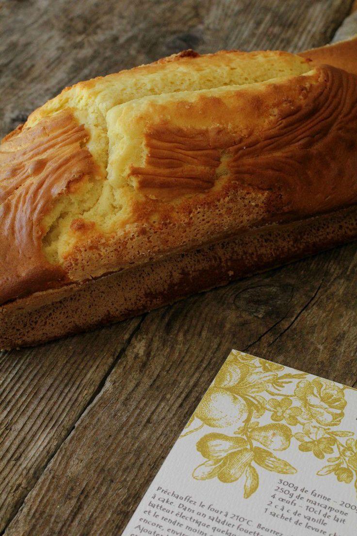 Gâteau au Mascarpone au cooking chef