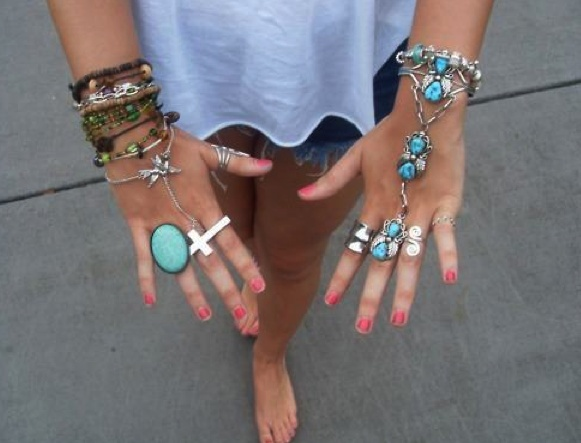 : Fashion, Style, Clothing, Bracelets, Turquoise, Jewelry, Crosses Rings, Cross Rings, Accessories