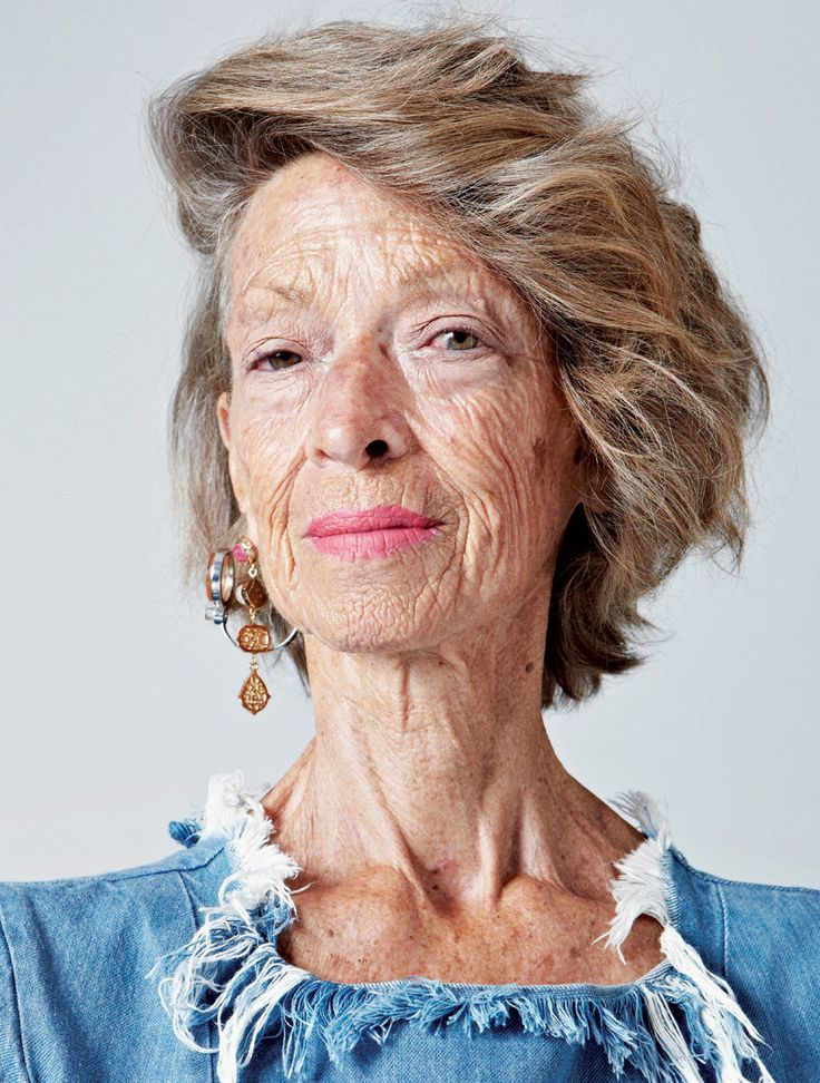 Old mature face shoot