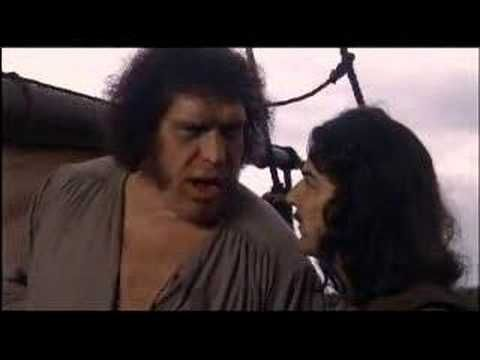 The Princess Bride is officially the best.  Rhyming scene - Anybody want a peanut? :D