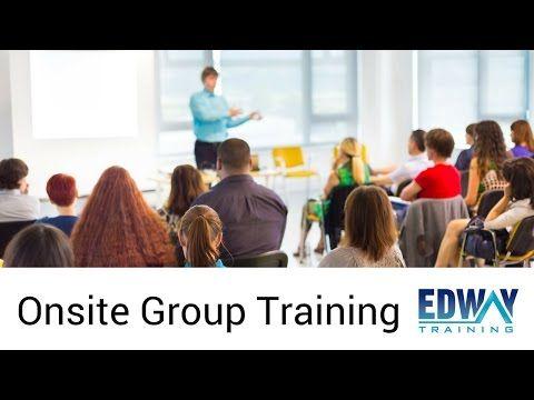 Onsite Group Training   Edway Training Melbourne - YouTube