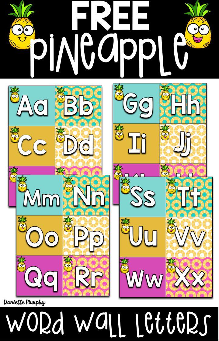 Classroom Alphabet Decor ~ Best word wall letters ideas on pinterest